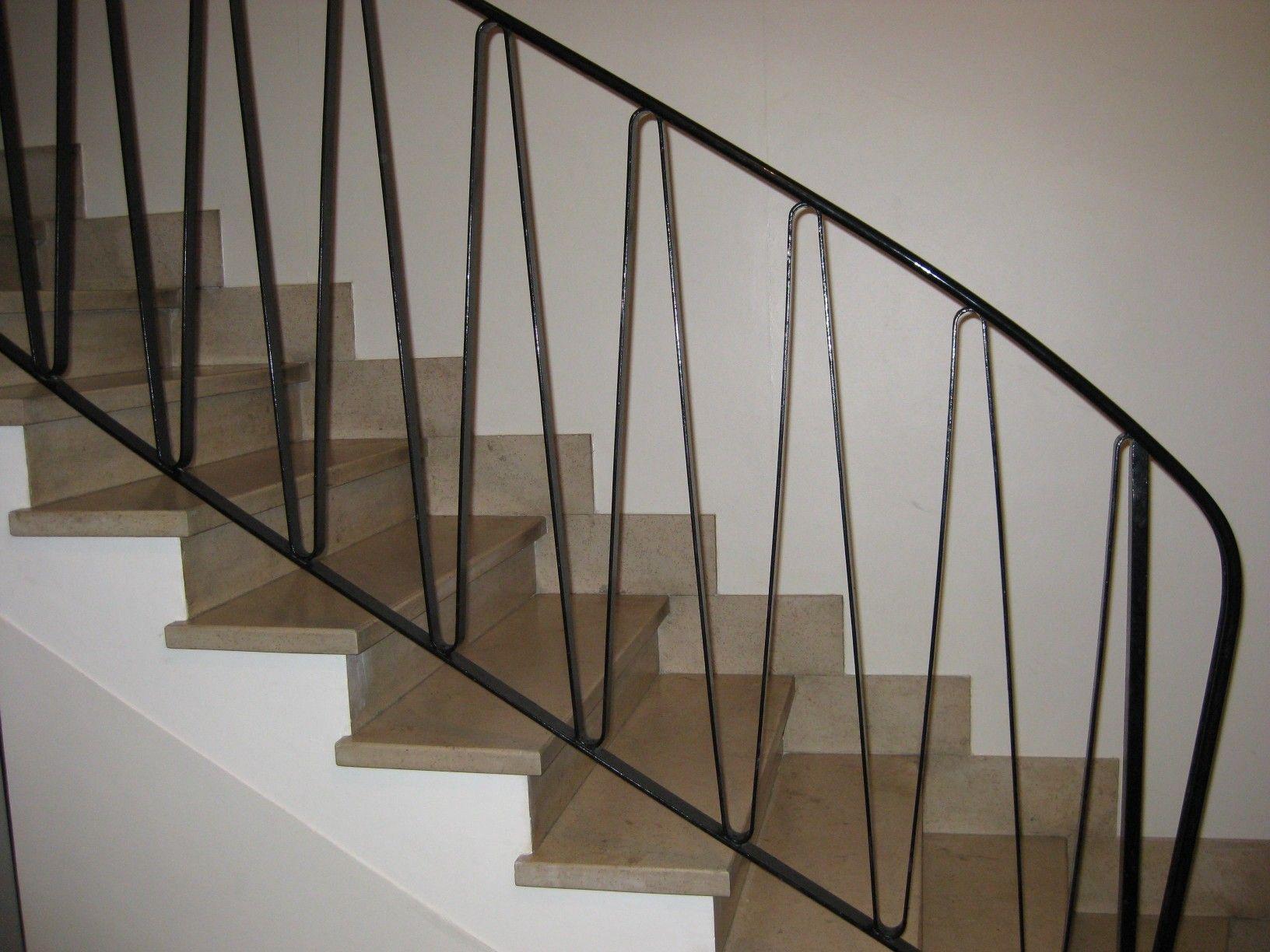 1950s hallway ideas  s banister  New House  Pinterest  Banisters Living room