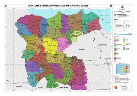 Administrasi Kabupaten Tangerang Tangerang