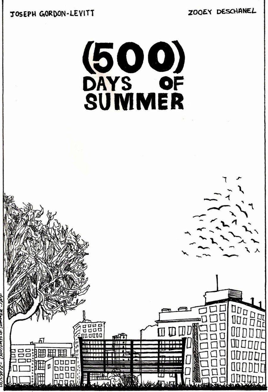 500) days of summer - posterintothewild142.deviantart on