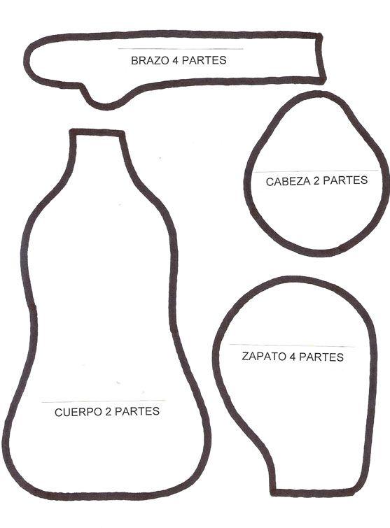 Manualidades y Artesanías   Muñeca de tela   Utilisima ...