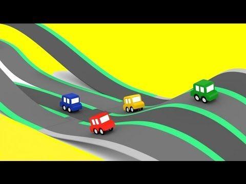 Cuatro Coches Coloreados Una Pista De Carreras Para 4 Coches Pequenos Caricatura De Carros Youtube Pistas De Carrera Caricaturas De Carros Coches Pequenos