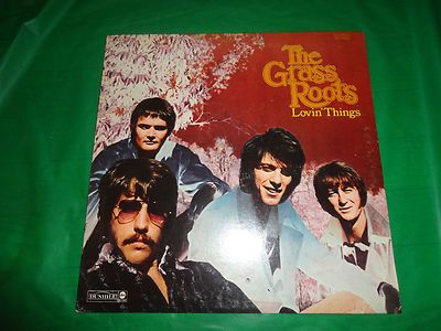 The Grass Roots Lovin Things vintage music record find me at www.dandeepop.com