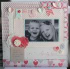 Artisan Design Team Box # 6 scrap page