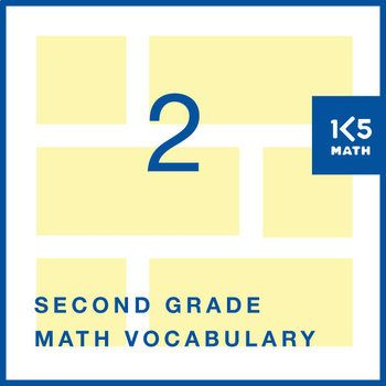 129 math word wall cards, a student math vocabulary book and ideas ...