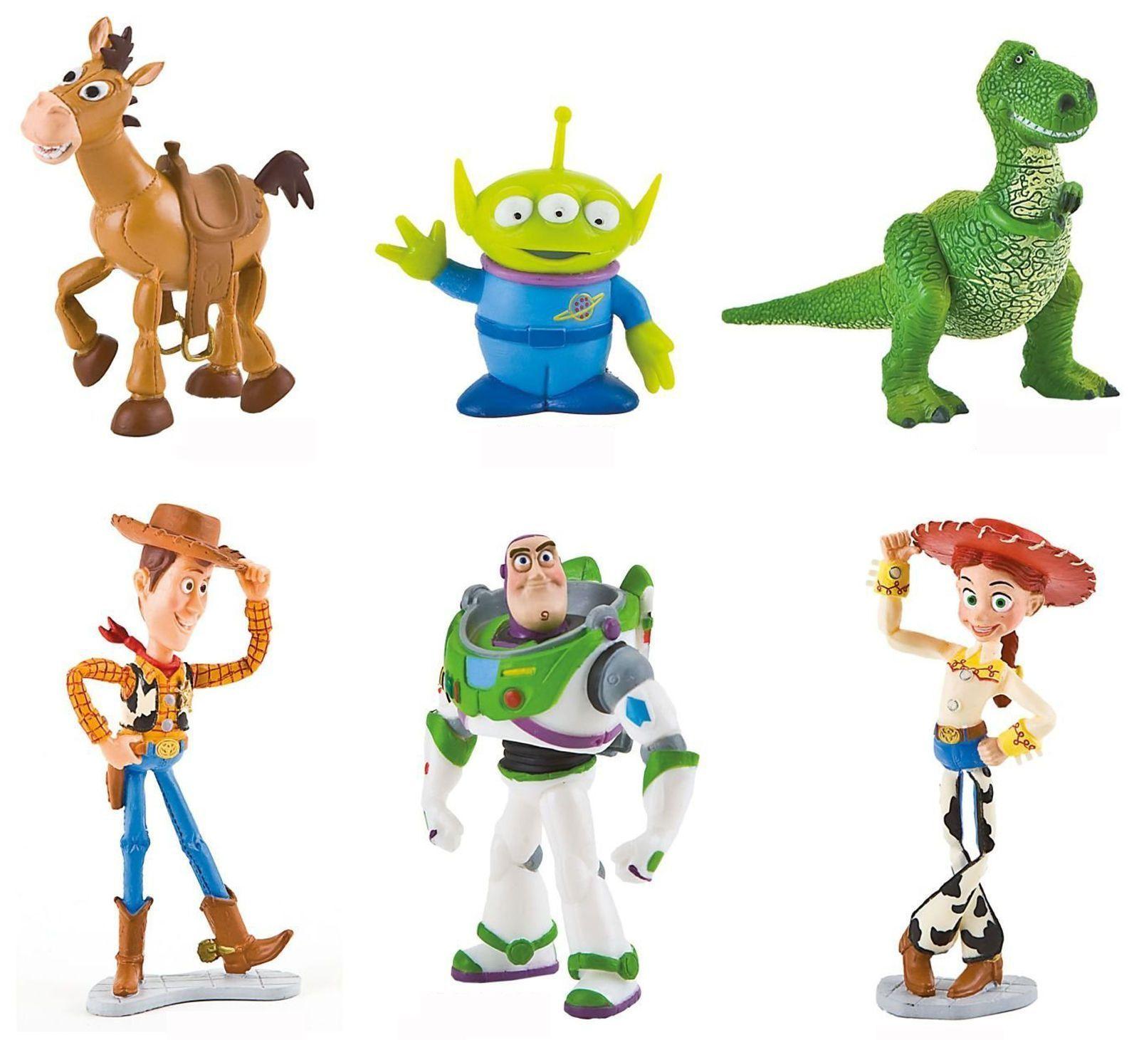История игрушек персонажи имена и фото