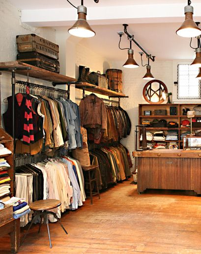 The 25 Best Vintage Stores In America Clothing Store Interior Store Interiors Shop Interiors