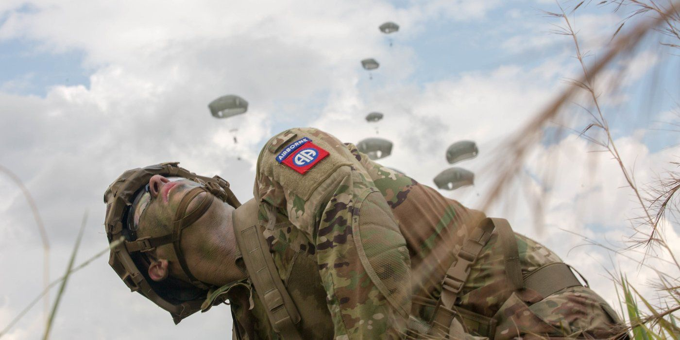 Jump alongside the 82nd Airborne with a paratrooper's wild