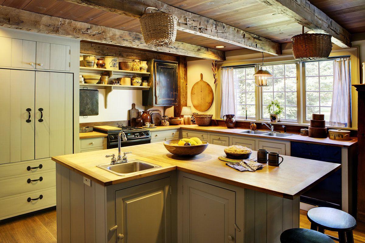 Farmhouse Keuken Landelijk : Landelijke keuken cottage stijl cottage interiors