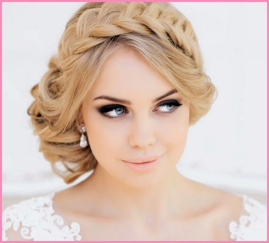 Perfect Wedding Day Hair Style Perfect Weddingday Hairstyle