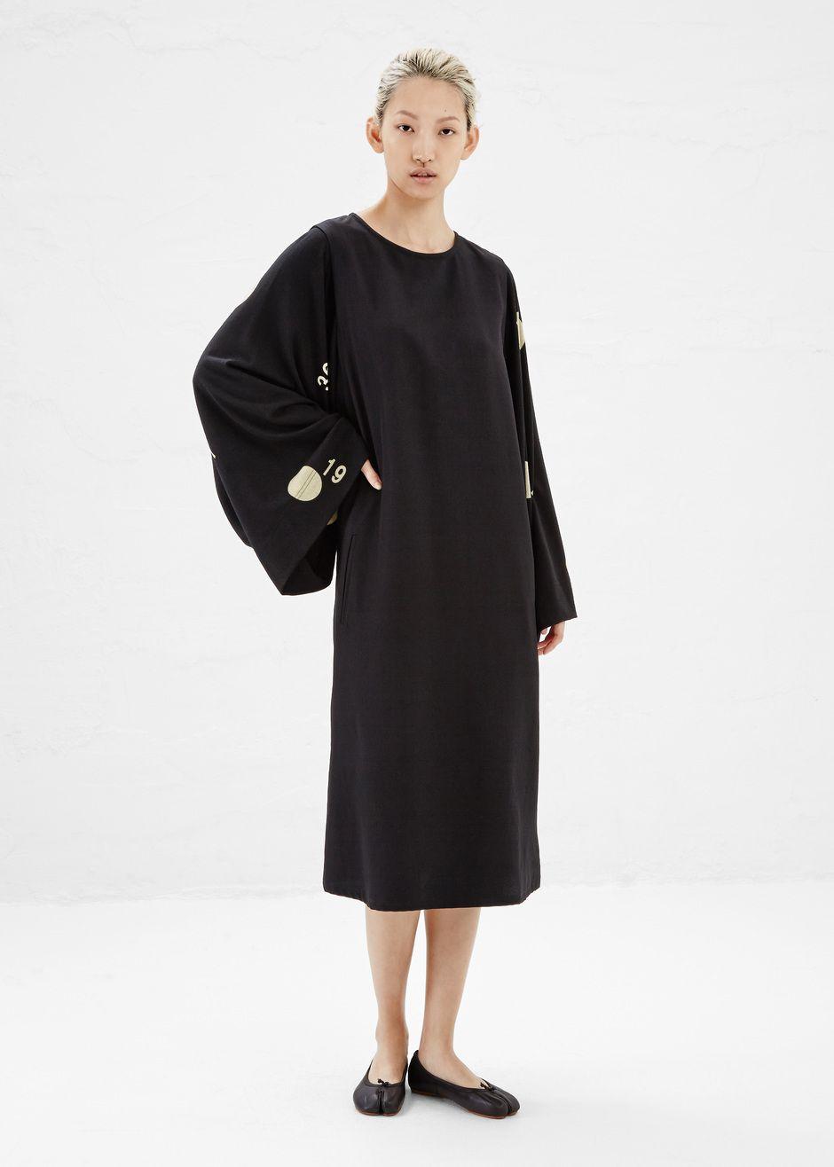 Yohji yamamoto dolman sleeve dress black to wear pinterest
