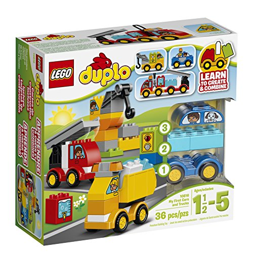 LEGO DUPLO My First Cars And Trucks 10816 Toy For 1.5-5