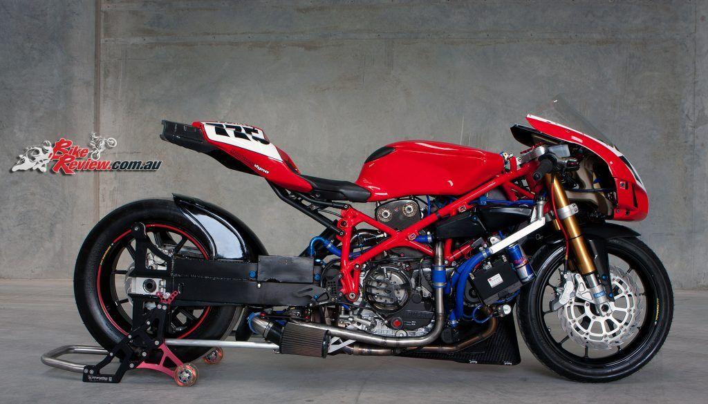 Stretched Custom Ducati 749 Turbo Dragster En 2020 Con Imagenes