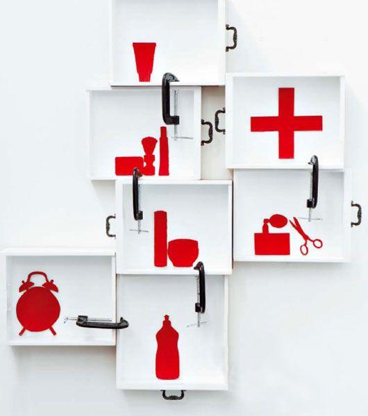 DIY medicine cabinet