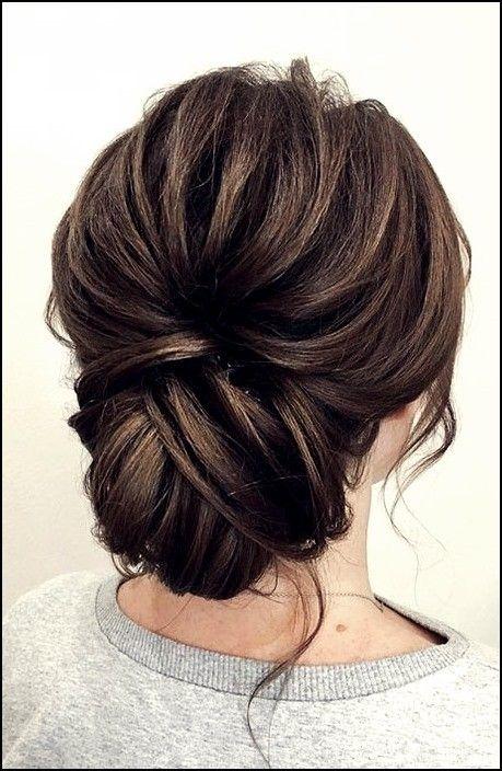 18 impresionantes peinados Updo para cabello corto Trend bob peinados 2019