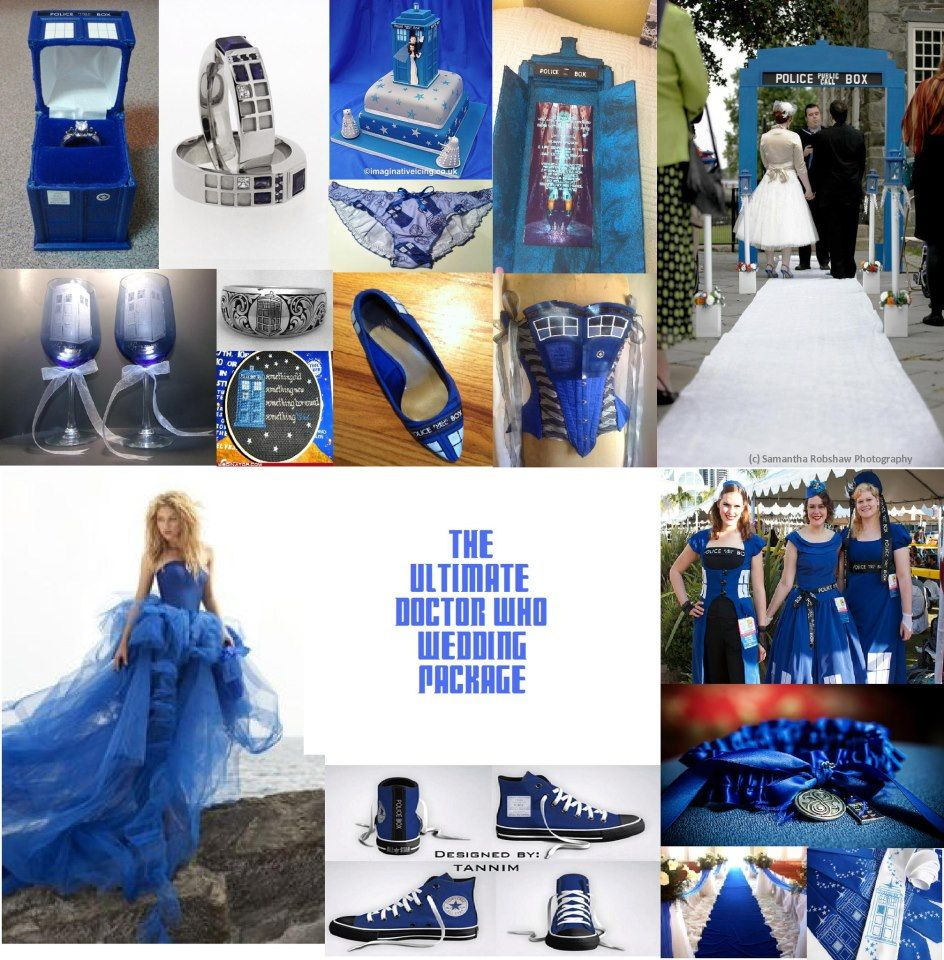 Doctor Who Wedding Theme Package I Love It But Could Never Do