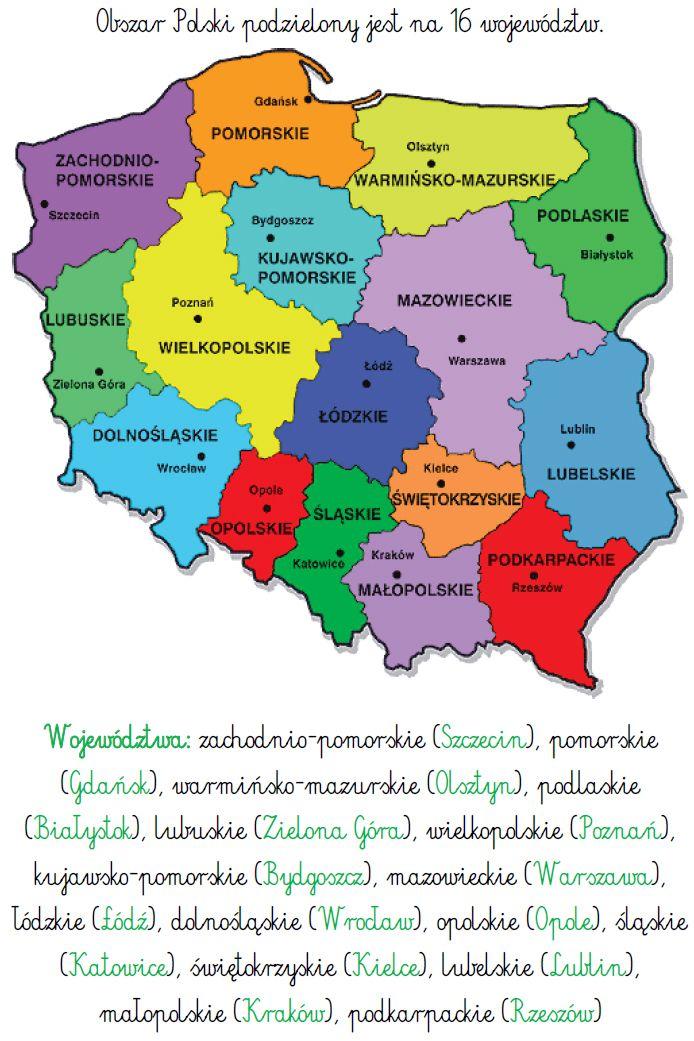 Ilustracje Zrodlo Internet Polska Jest Nasza Ojczyzna Stolica Pierwsza Stolica Polski Bylo Gnie Learn Polish Polish Language Kids Education