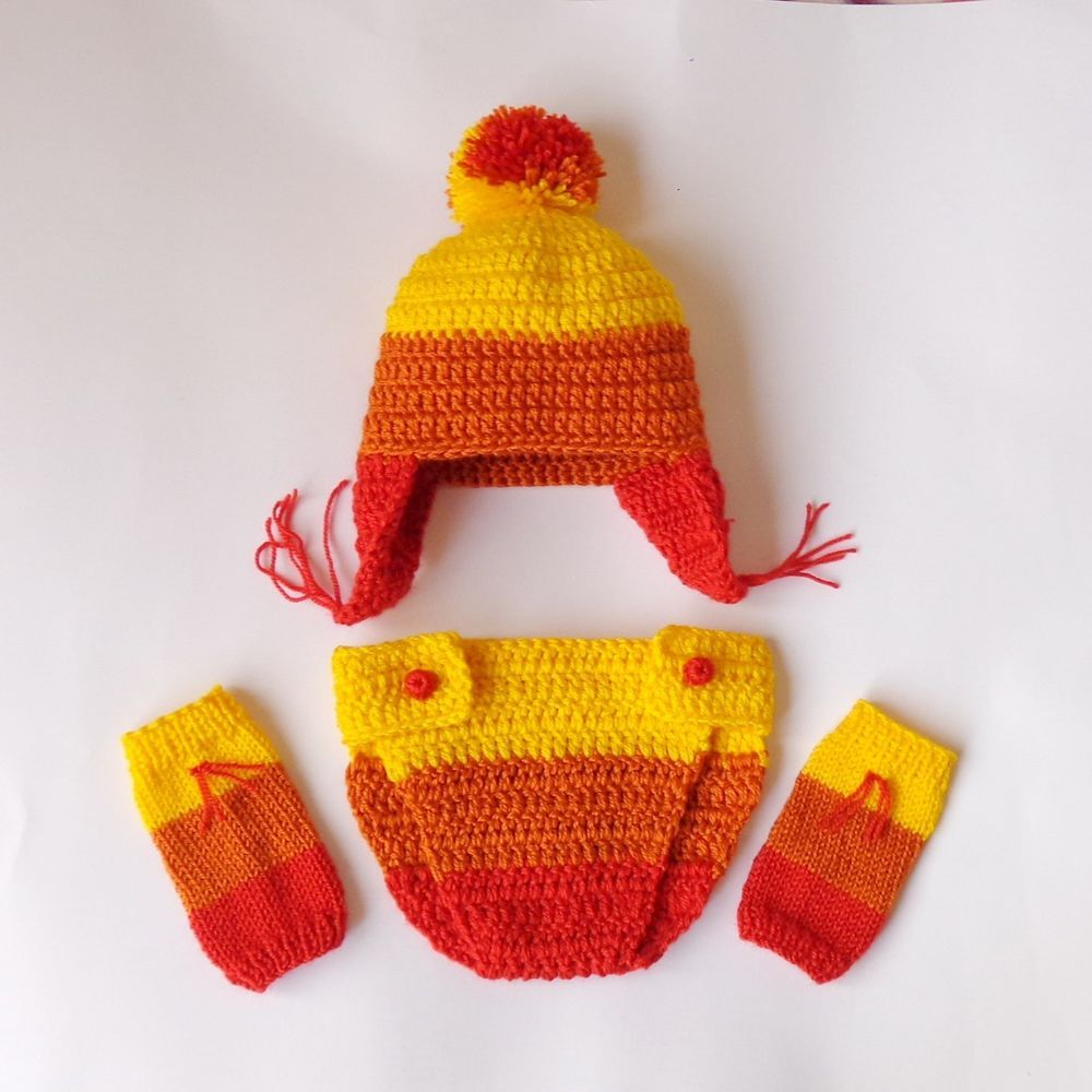 Jayne Cunning Hat and Diaper Cover With Leg Warmers, Firefly Cobb ...