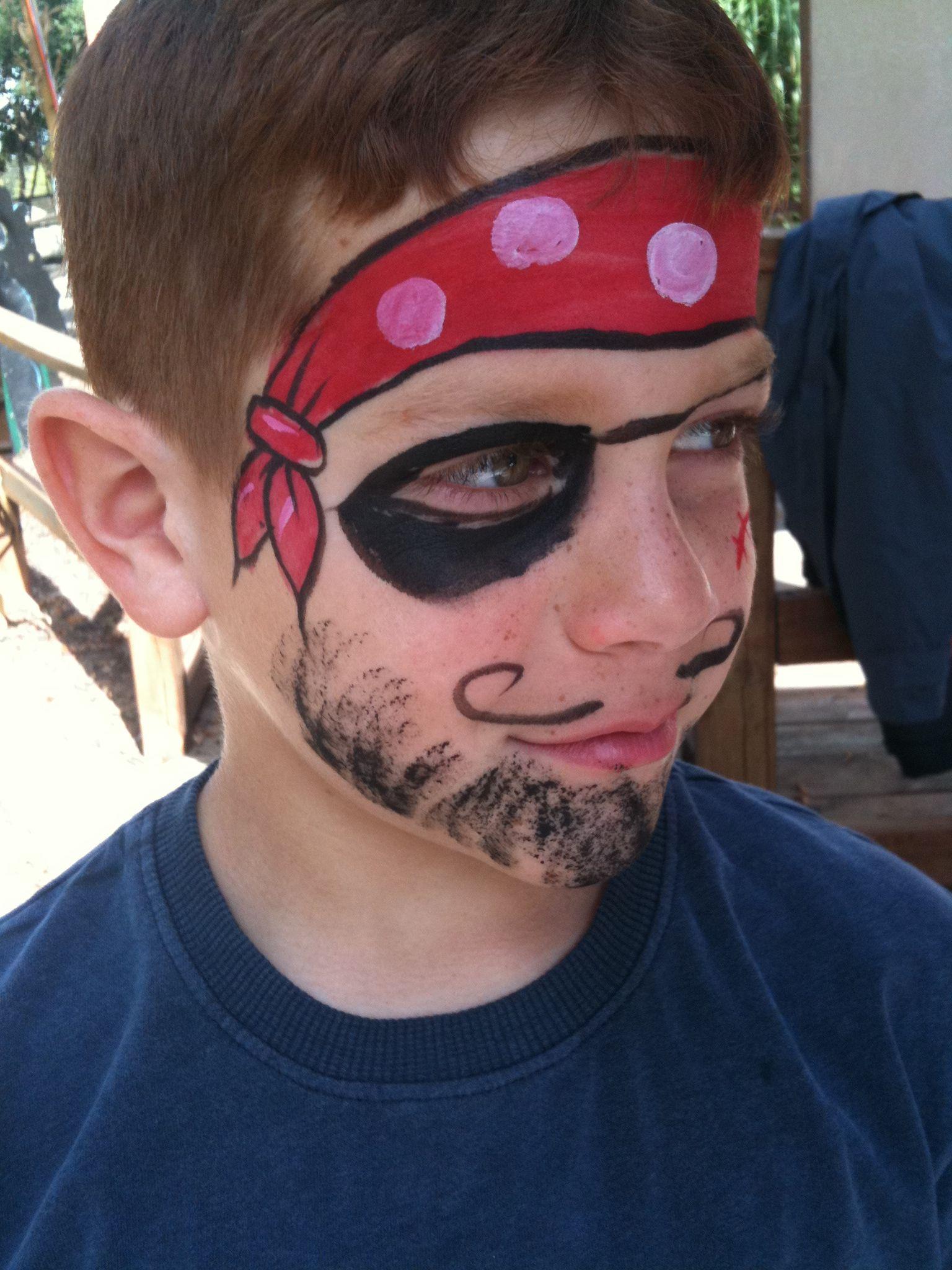 Face Paint unfortunate sailor (pirate)