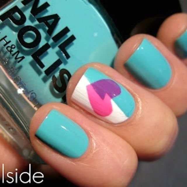Super cute easy nails