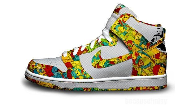 shoe design | lego nike shoe design. This is a pretty out there design.