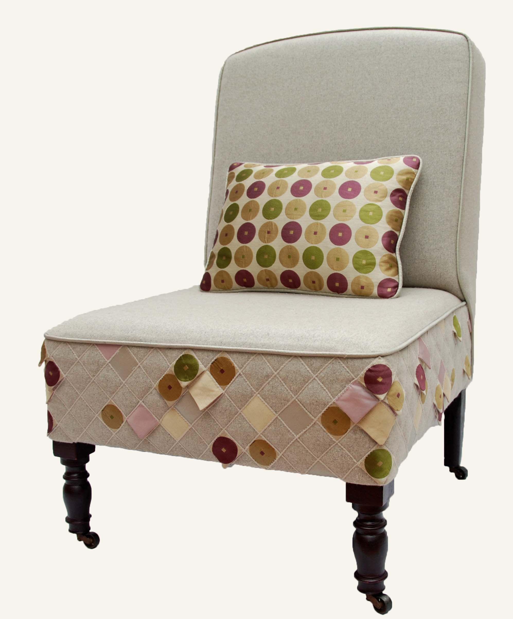 A 'petal' nursing chair. | Makers Yard Bespoke | Pinterest