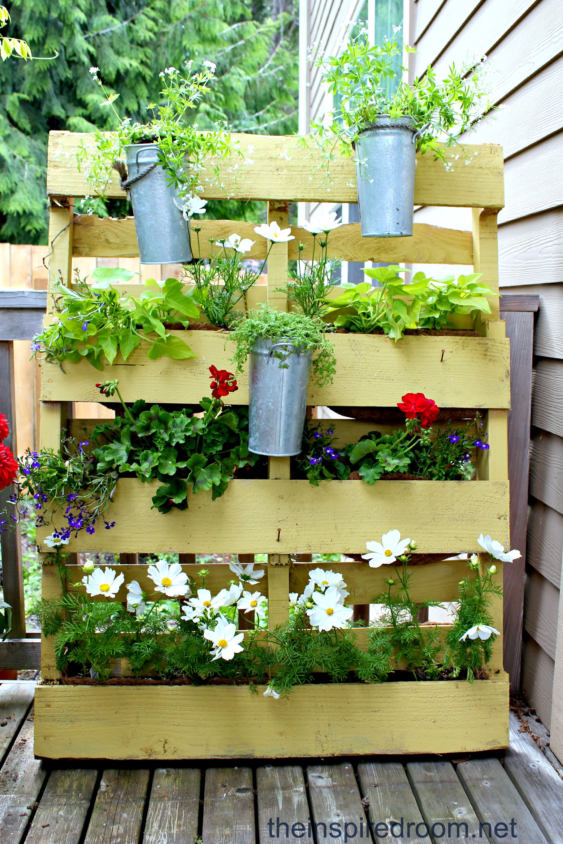 The Pallet Garden {re-mix 2012 | Pallets garden, Pallets and Gardens