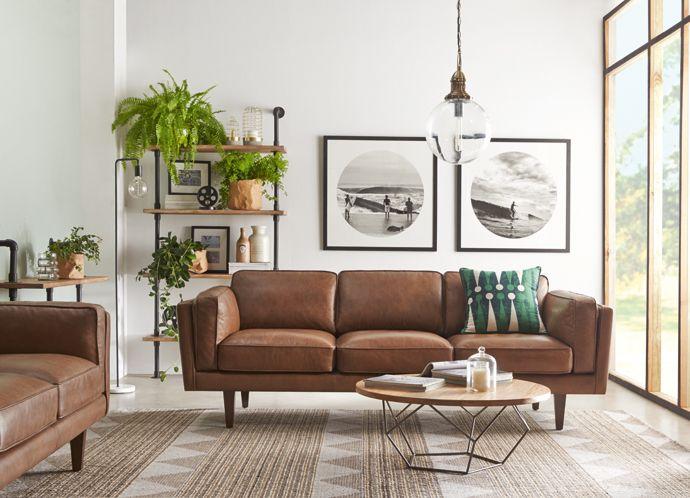Divano Arancione E Marrone : Shop the look freedom furniture and homewares renovation and