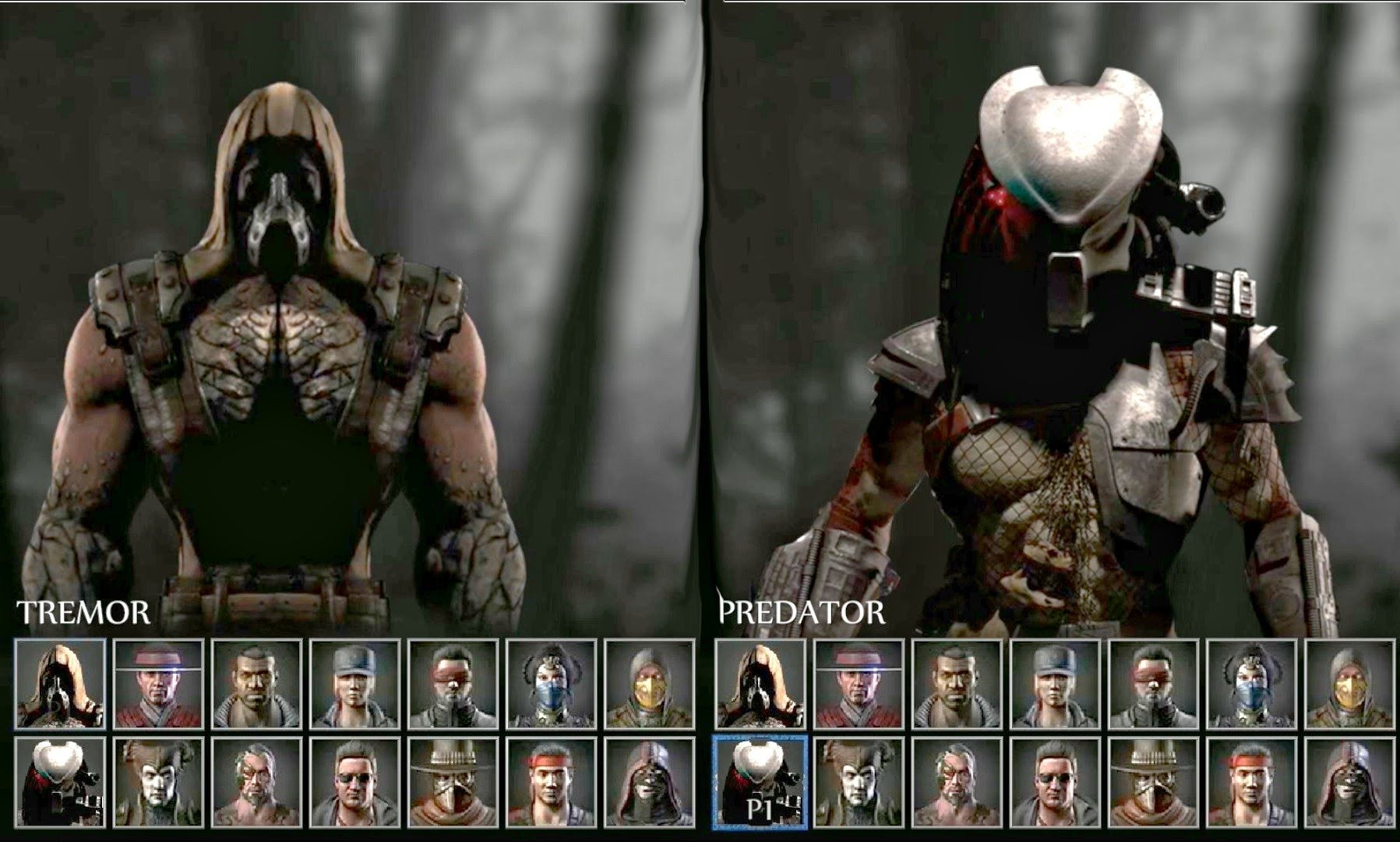 Mortal Kombat X Animated Select Flash Screen Roster 29 Character