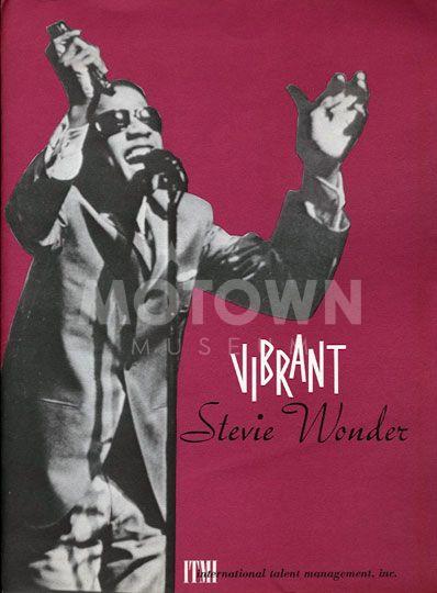 Stevie Wonder Motown Sound Featured Artist Stevie Wonder