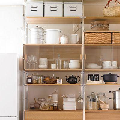Sus層架收納箱 橡木箱 玻璃門 Simple Kitchen Remodel Kitchen Remodel Plans Kitchen Remodel Layout
