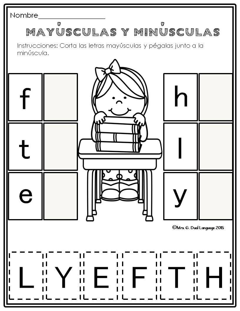 El Alfabeto Alphabet Practice Pages In Spanish Alphabet Practice Worksheets Alphabet Worksheets Kindergarten Alphabet Worksheets [ 1056 x 816 Pixel ]