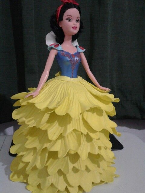 604e2405607 Resultado de imagem para barbie vestido con goma eva