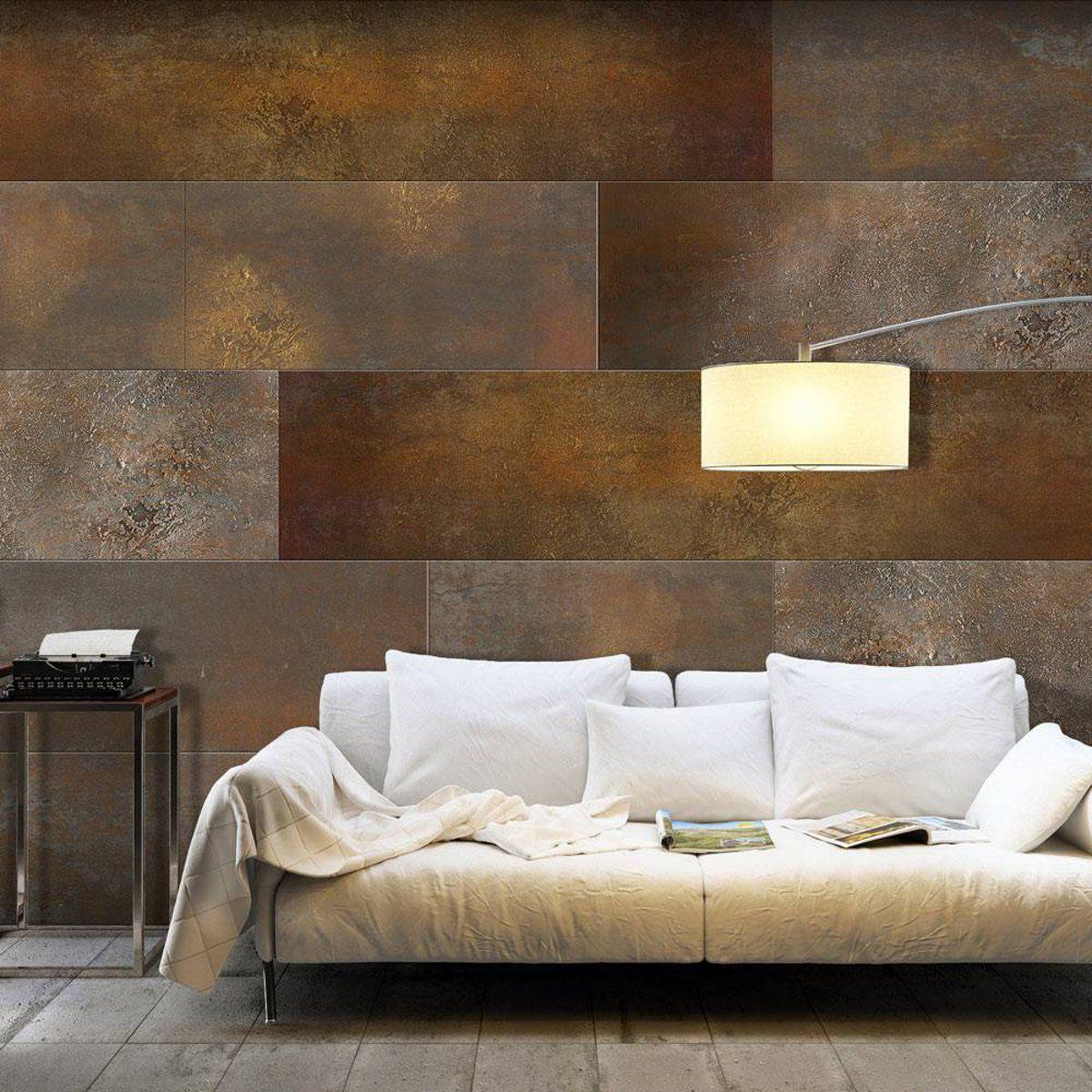 Fotobehang Blokken In Koper Tinten Fotobehang Thuis Behang Thuisdecoratie