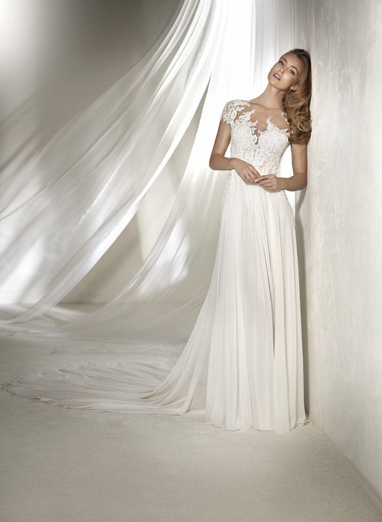 Atelier Pronovias Regina Thewhitegown Pronovias Wedding Dress Wedding Dresses Debutante Dresses