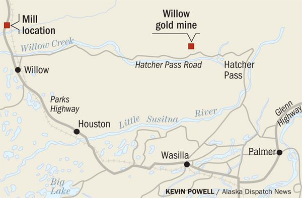 Historic Hatcher Pass Mine Could Become Ground Zero For New Willow