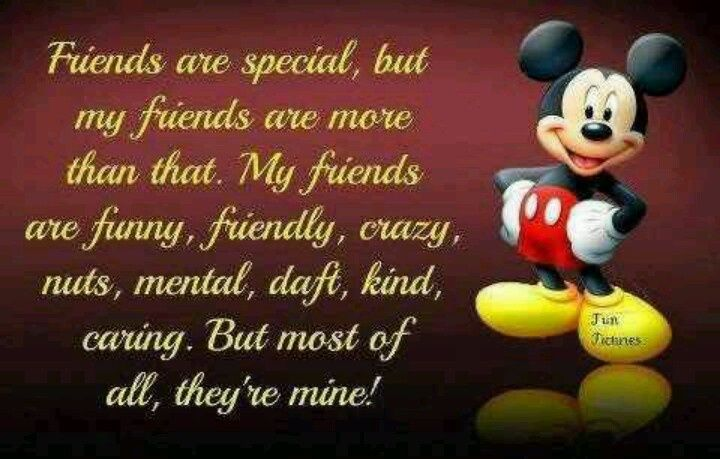 Sayings about special friends