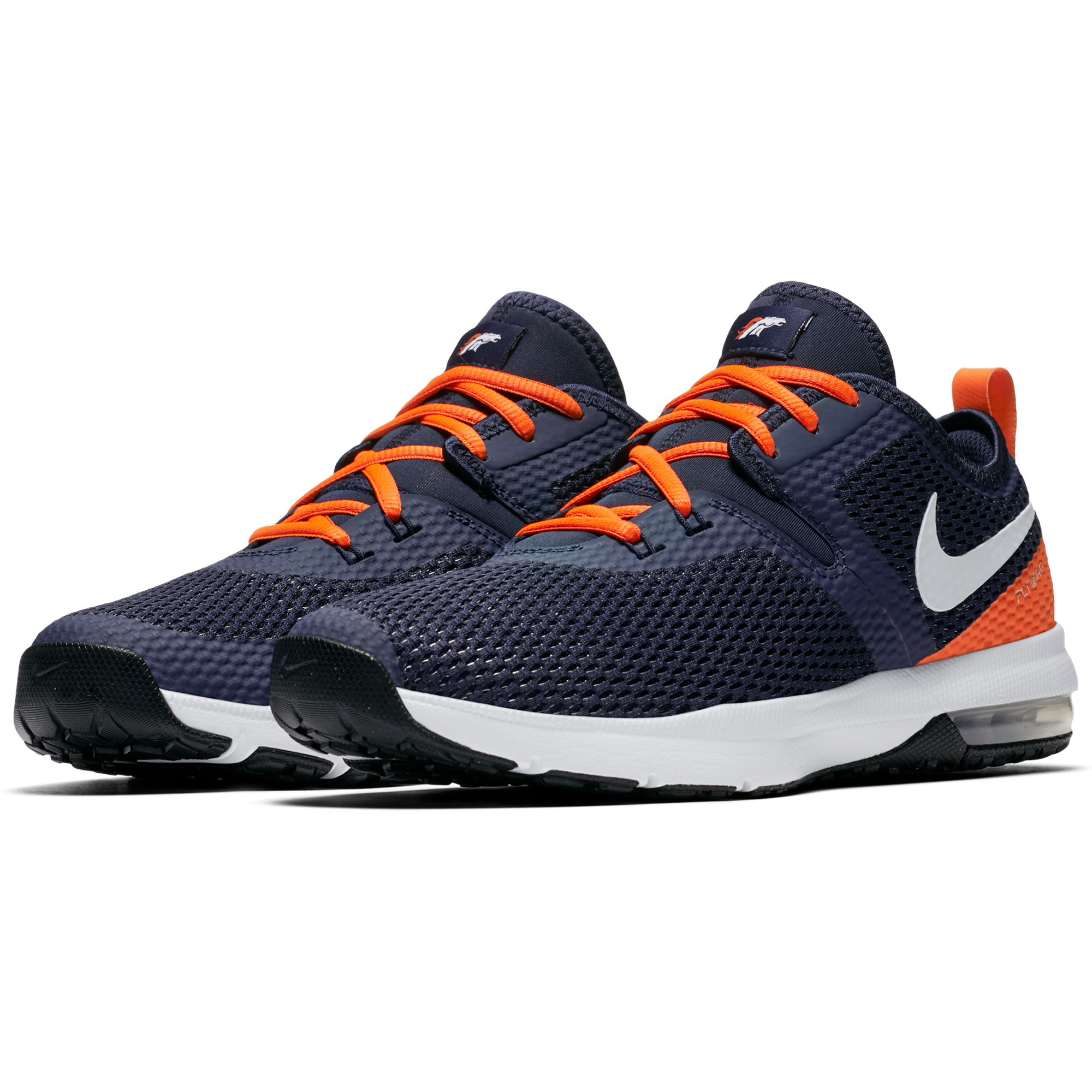 1d3309676eba25 NFL Denver Broncos Nike Air Max Typha 2 Shoes     Navy Orange ...