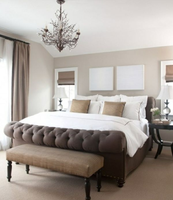 Schlafzimmer Farbideen für eine stimmungsvolle Atmosphäre ...