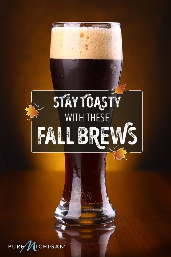 475dfd7f02f6 See how to warm up your Michigan fall with these darker beers.