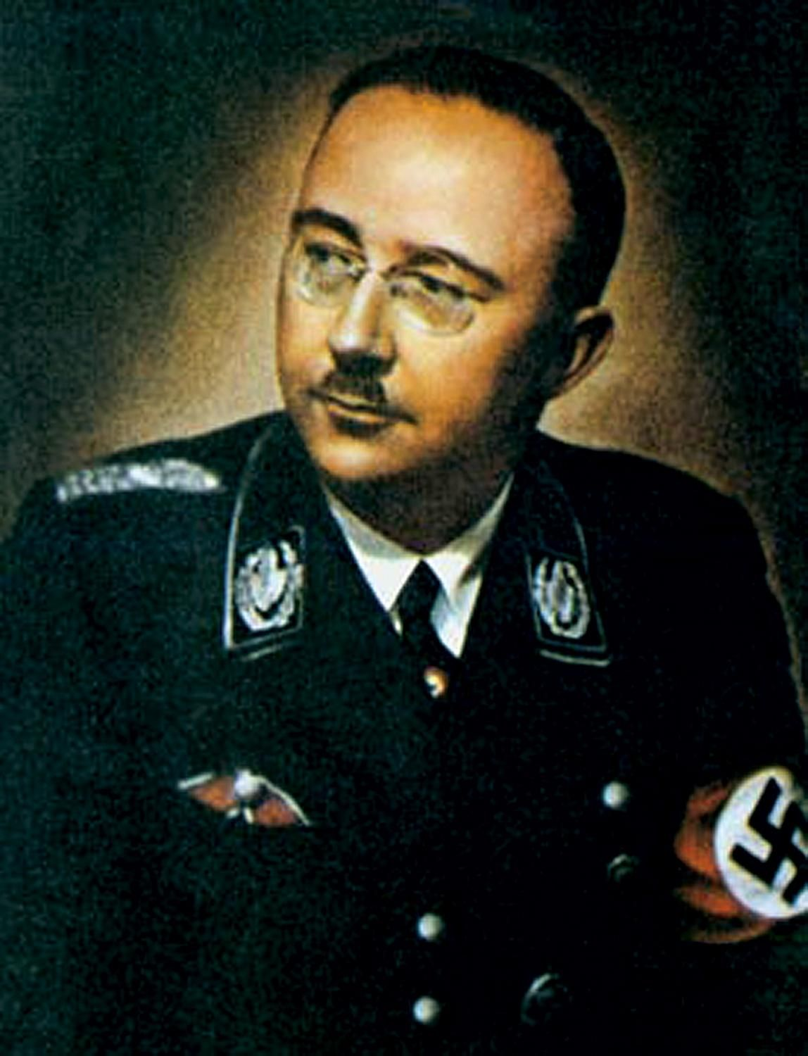 Image result for heinrich himmler commits suicide