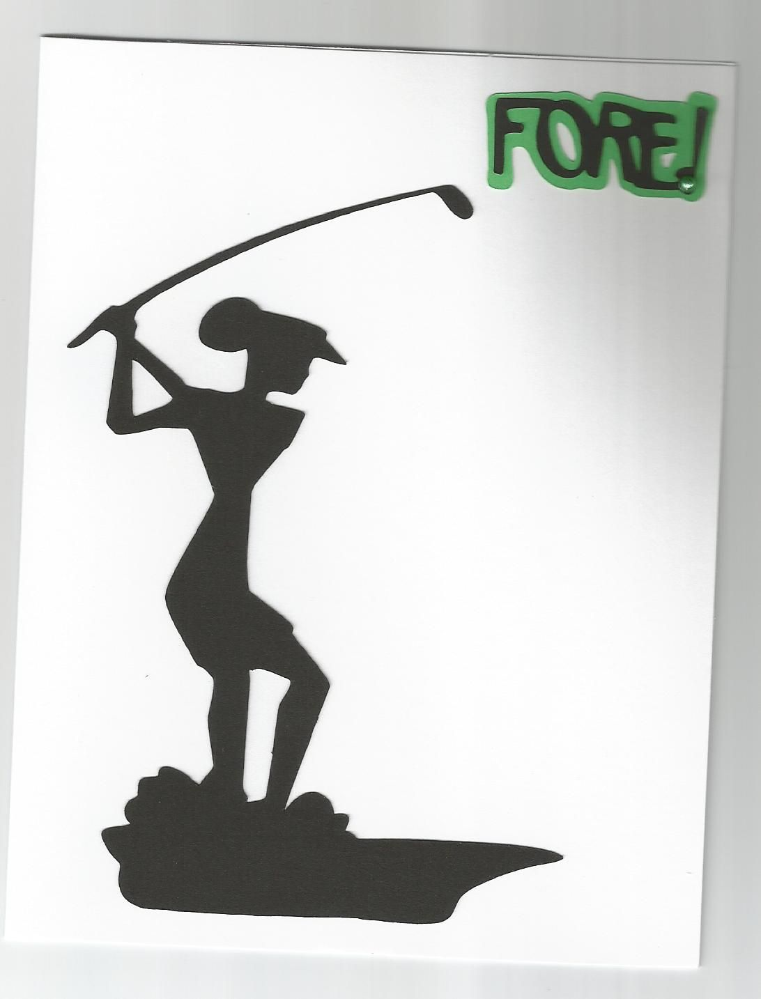 Lady Golf Card For Birthday Or Mother S Day Sport S Cards