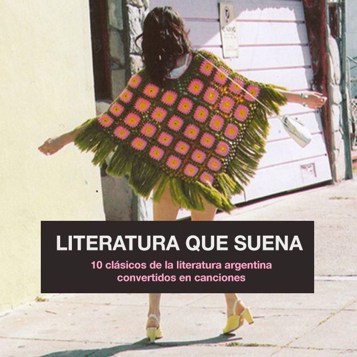 Literatura Que Suena (2015) arte de la cubierta