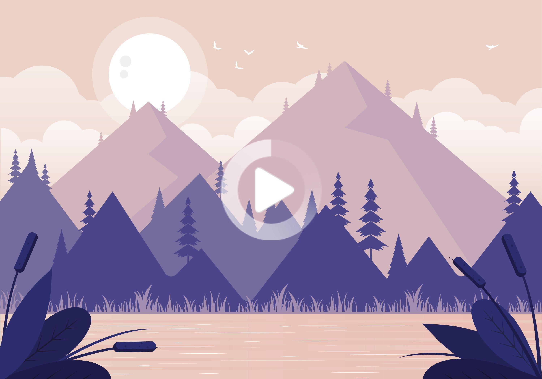 Pin On Landscape Illustration