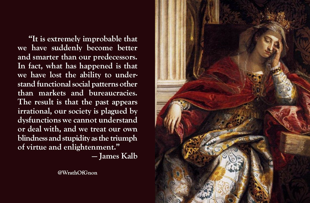 """It is extremely improbable that we have suddenly become ..."