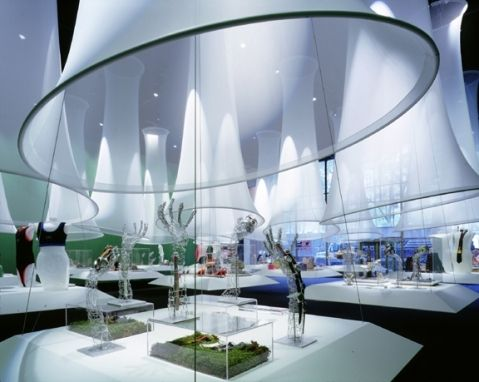 Imagine These: Exhibition Interior Design   Council of Fashion Designers of America   New York   Gabellini Sheppard Associates