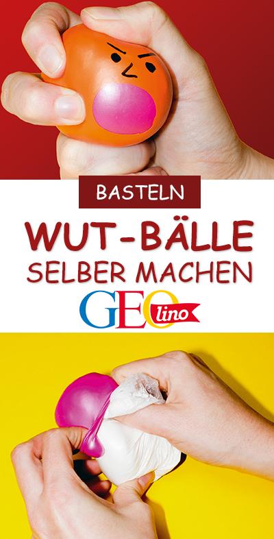 Ihr möchtet wissen, wie Anti-Stress-Bälle funktionieren und selbst einen Ball basteln? Wir liefern die #Bastelanleitung dazu! #basteln #bastelnmitkindern #diy #selbermachen #bastelidee #bastelspass