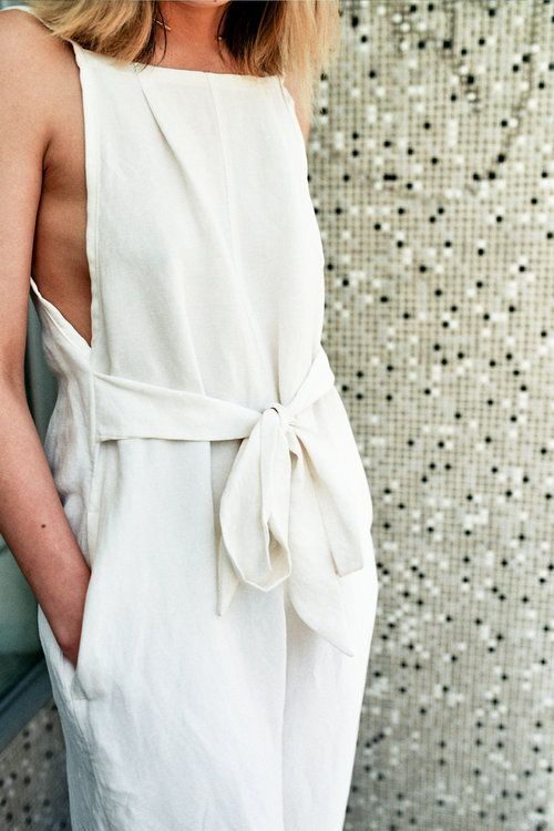 Silk Linen Slouch Playsuit by FME Apparel Australia   My Style ...
