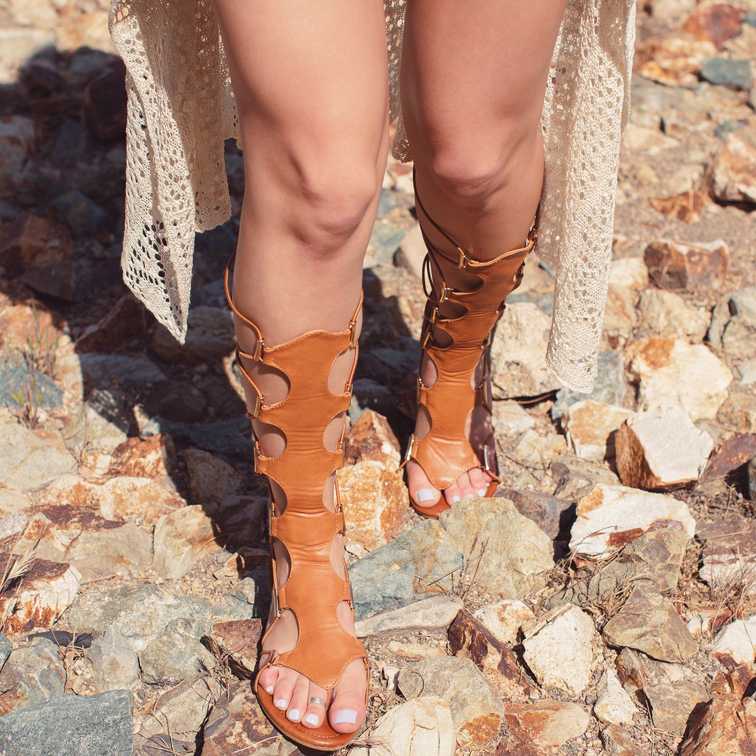 ac33aff973a Top Girl Gladiator Sandals