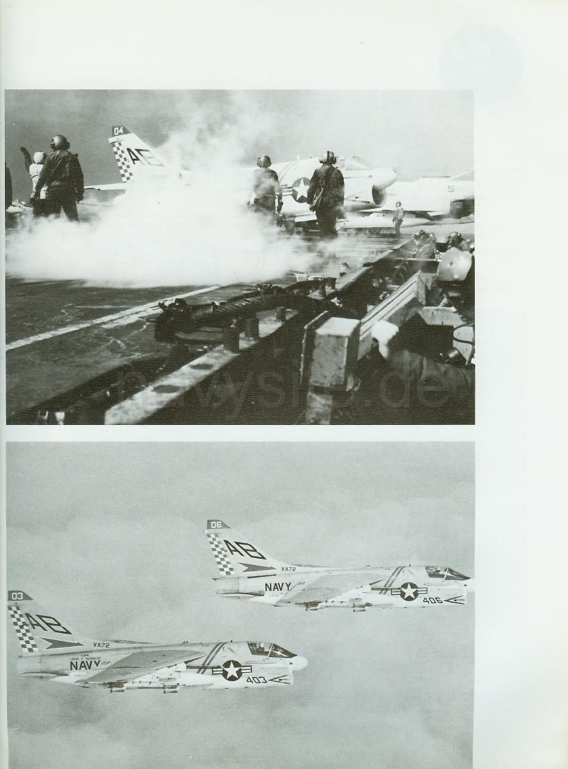 USS John F Kennedy CV 67 Mediterranean Cruise Book 1971 72 VA