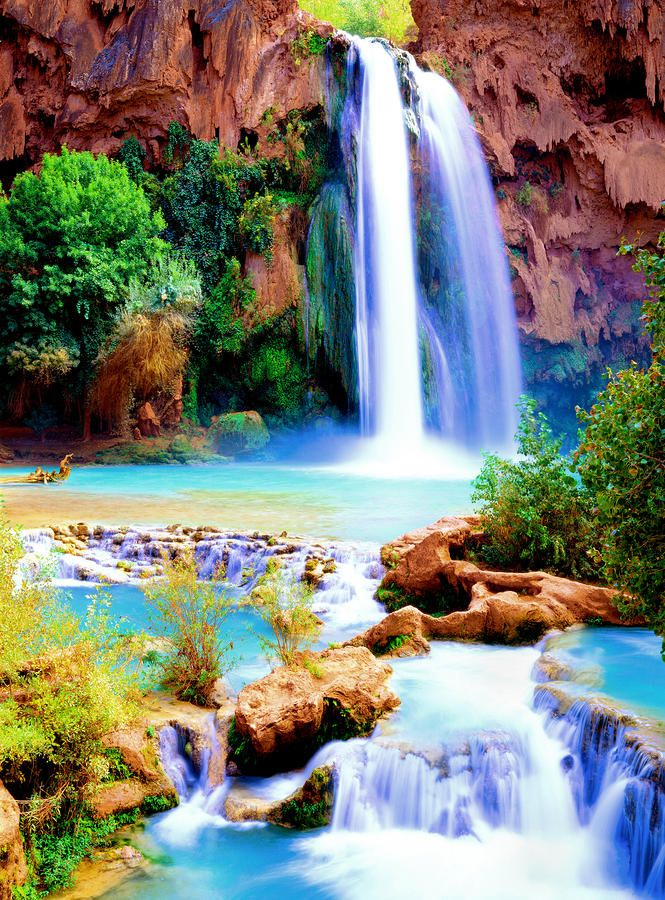 havasupai falls taking the kids this fall places to see
